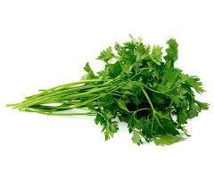 organic parsley 100g