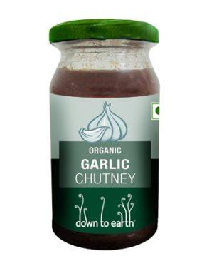 Organic Garlic Chutney 120 gm