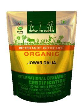 Organic Jowar Dalia (500 gram)