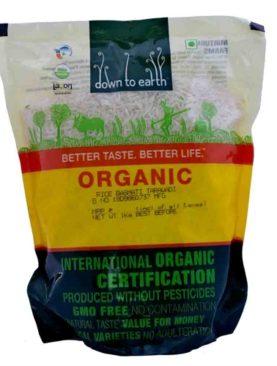 Organic Rice Basmati Tarawadi  (1kg)