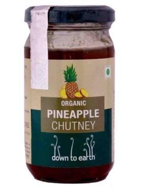 Organic Pineapple Chutney (120 gram)