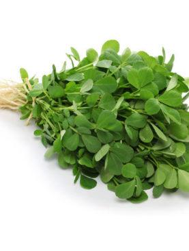 organic fenugreek leaf 500g( methi saag)