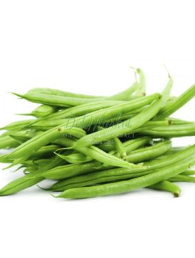 Organic French beans 400g
