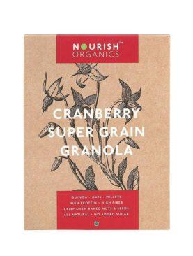 Cranberry Super Grain Granola