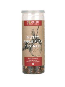 Nutty Apple Flax Crunch (90 gram)