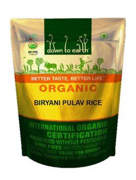Organic Biryani Pulav Rice (100 gram )
