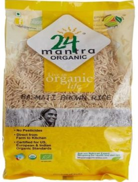 24 Organic Mantra Products Red Rice, 1kg